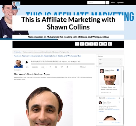 'This is Affiliate Marketing' with Shawn Collins is focused on the people behind the affiliate management/OPM companies, advertisers/merchants, affiliates/publishers, and affiliate networks. There are no tips or resources. No business advice. On each episode, Shawn interviews a new guest related to the industry, so you can learn more about the people of affiliate marketing. After all, affiliate marketing is about the people; not the companies.