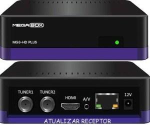 Baixar atualização Megabox mg3 HD plus - maio 2017