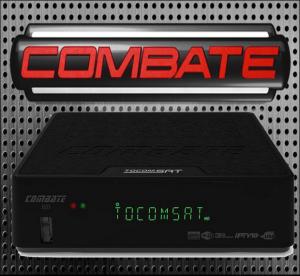 ATUALIZAÇÃO TOCOMSAT COMBATE HD V.02.044 - AGOSTO 2017