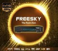 NOVA ATUALIZAÇÃO FREESKY THE ROCK ZION HD V.1.08.01250 - 31/11/2016 SKS 30/58W