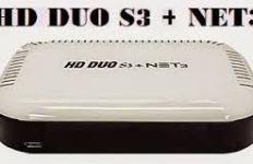 ATUALIZAÇÃO HD DUO S3 + NET 3 V.3.70 CORREÇÃO 58W - 22/08/2017
