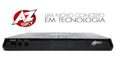 AZSKY SK4 SLIM NOVA ATUALIZAÇÃO V1.061 - 13/08/2017