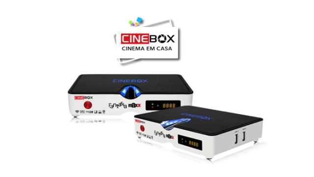 Atualização Cinebox fantasia maxx - 87w e iks - 04 julho 2017