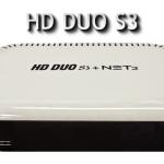 ATUALIZAÇÃO HD DUO S3+NET3
