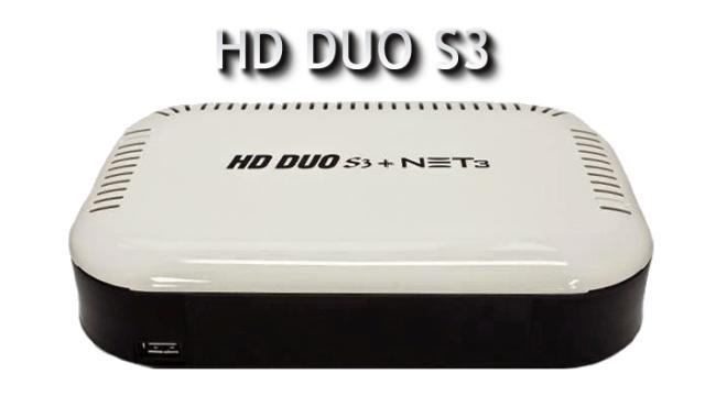 Freesatelital Hd Duo s3 net 3 download atualização v.3.69 - 30/07/2017