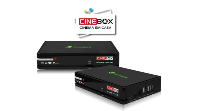 CINEBOX MAESTRO HD ATUALIZAÇÃO V.4.35.2 - 2018