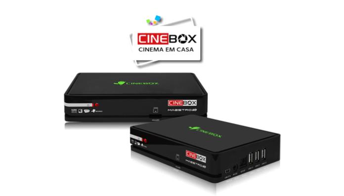 ATUALIZAÇÃO CINEBOX MAESTRO HD V4.35.3 - 15/02/2018