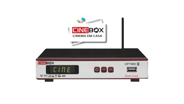 Atualização Cinebox optimo x - 87w e iks - 04 julho 2017