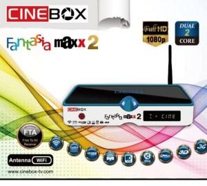 Atualização Cinebox fantasia maxx 2 - 87w e iks - 04 julho 2017