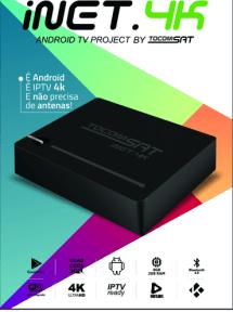 🗣️Nova atualização Tocomsat Inet 4️⃣K ROM - 15/05/2017