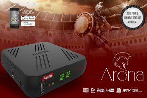 Atualização Phantom Arena full HD 4k IPTV v.1.02 - 25/07/2016