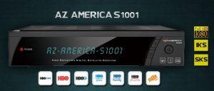 Ultima atualização Azamerica S1001 v.1.09.17580 novembro/2016