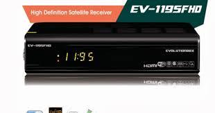 Atualização EvolutionBox Ev FHD 1095