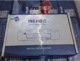 ATUALIZAÇÃO PROBOX 190 V.1.238 58W
