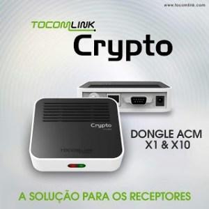 Atualização Dongle Tocomlink Crypto x1 v.1.012 - 11/07/2017