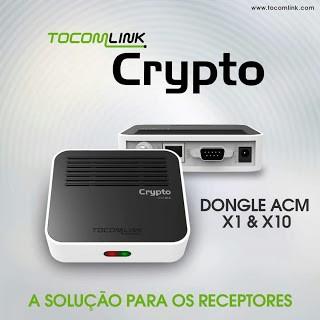 ATUALIZAÇÃO TOCOMLINK CRYPTO X1 V.01.015 - 30 SETEMBRO 2017