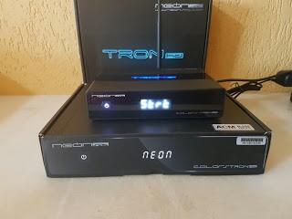 Atualização Neonsat Colors Tron HD v.F05 HD - 01 julho 2017