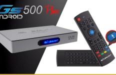 Atualização Globalsat gs 500 plus - 27/06/2017
