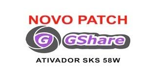 ATIVADOR PATCH GSHARE SKS 58W