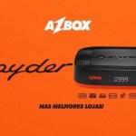 ATUALIZAÇÃO AZBOX SPYDER V.103 - 19/08/2017