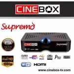 ATUALIZAÇÃO CINEBOX SUPREMO HD - FEVEREIRO 2018