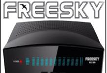 ATUALIZAÇÃO FREESKY MAX HD + PLUS V.108 - 07/03/2018