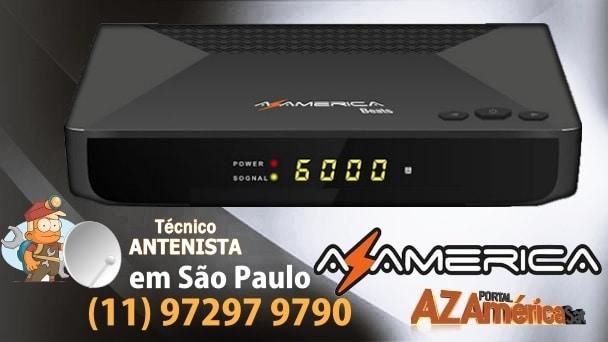 Atualização Azamerica Beats HD v.104