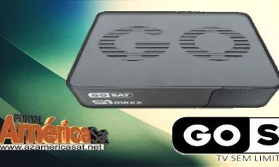Gosat S3 Maxx Nova Atualização