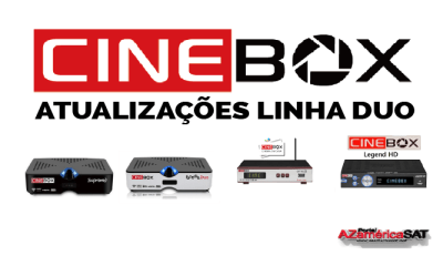 ATUALIZAÇÕES CINEBOX LINHA DUO