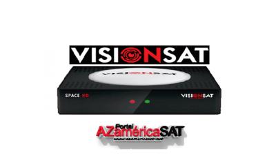 atualização visionsat space hd - azamerica sat