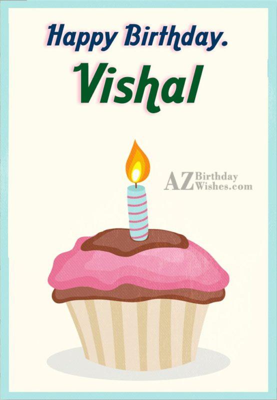 Happy Birthday Vishal
