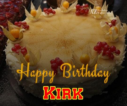 Happy Birthday Kirk