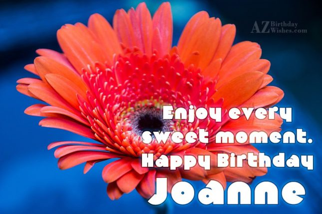 Happy Birthday Joanne