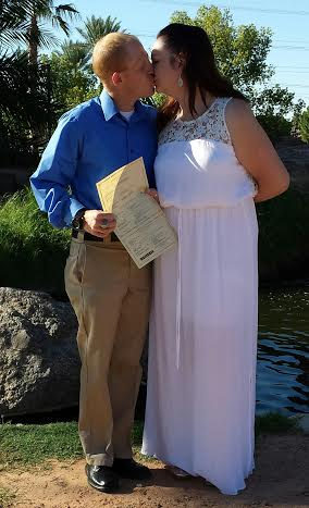Same Day Wedding Ceremony Mesa-Gilbert-Tempe