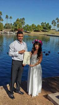 Lakeside wedding Gilbert
