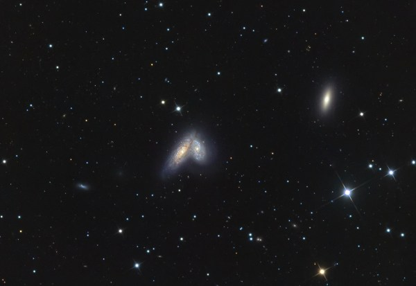NGC4567 and 4568 | Images from Deep Space | Mel Martin