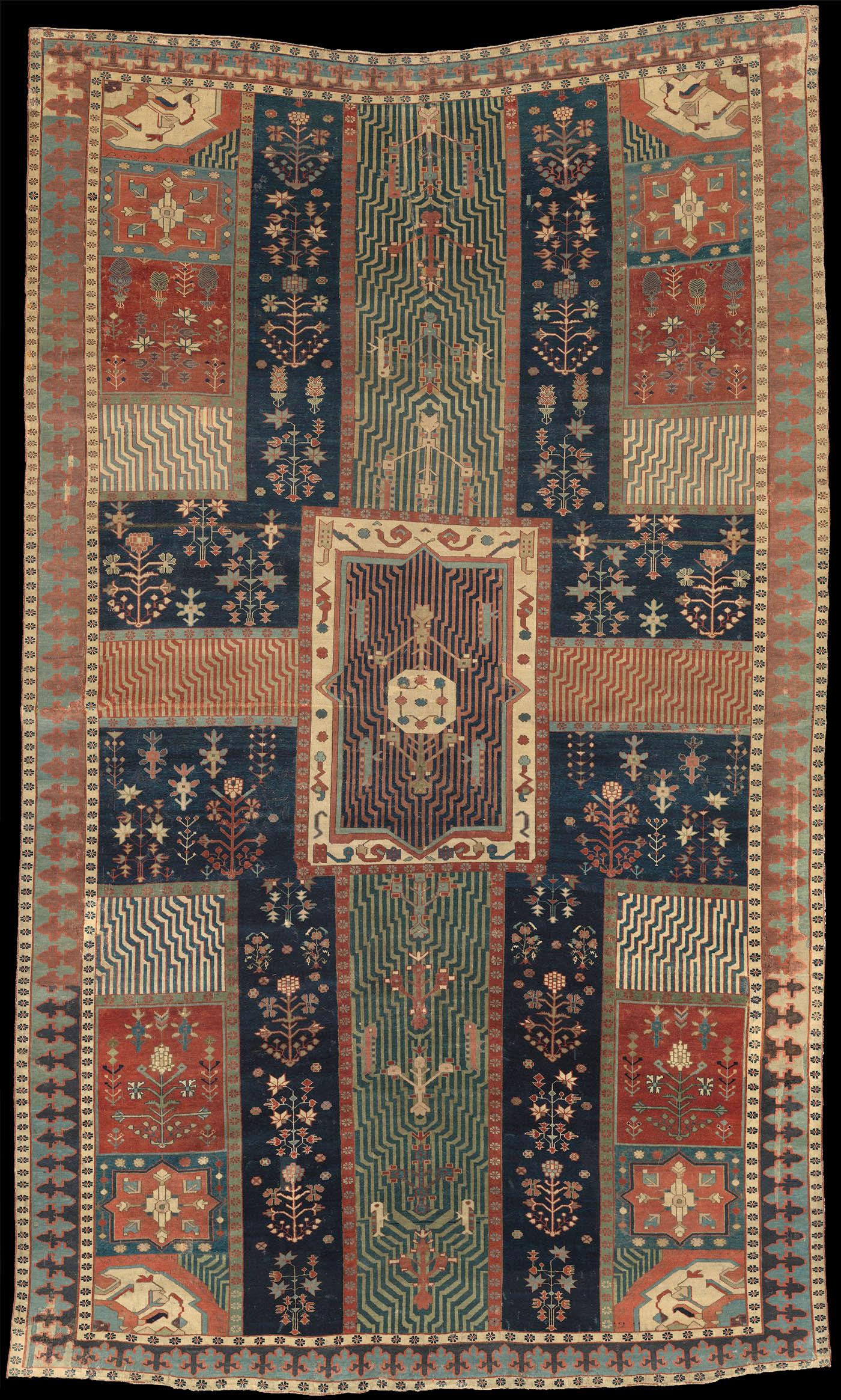 Calidad Alfombra Gris Alfombra de lujo diseñador de gran espesor barroco ornamentos pesado Mat