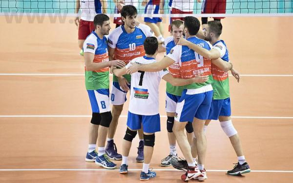 Azerbaijan win bronze at Novotel Volleyball Cup