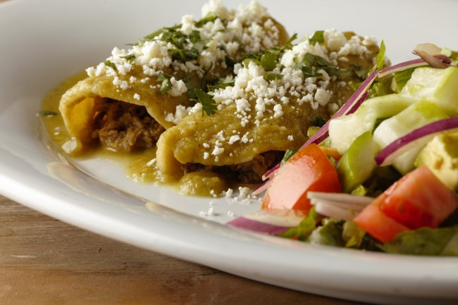 Paul Martin's - Pork Chile Verde Enchiladas