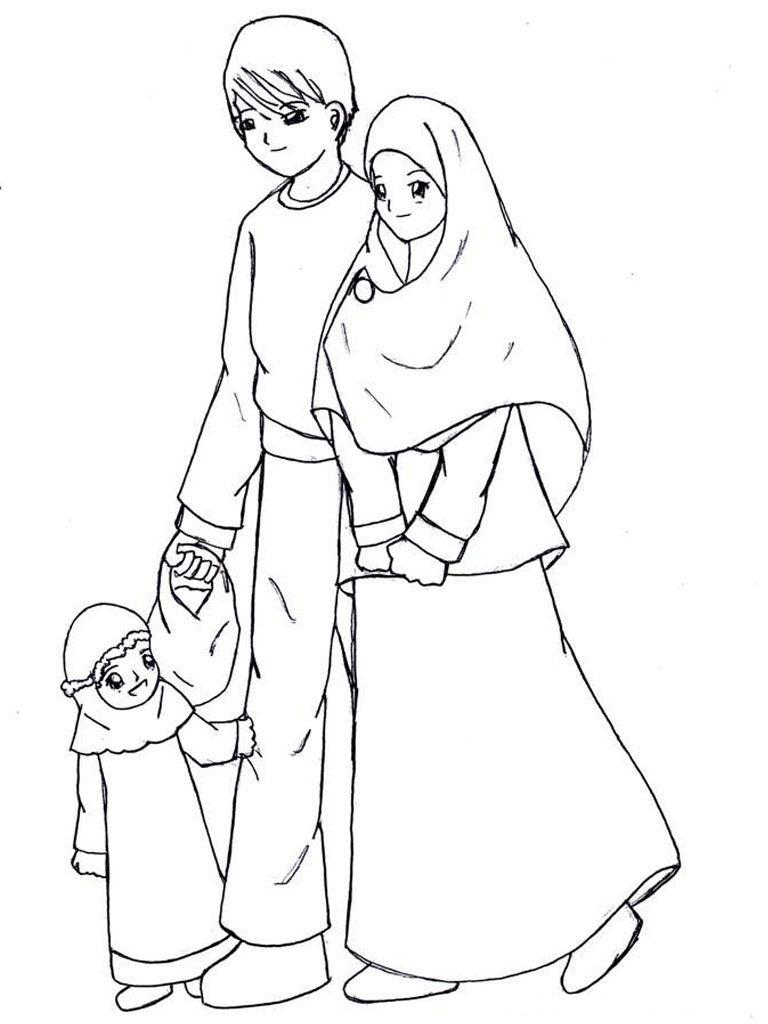 Contoh Gambar Keluarga Muslim Download Gambar Online