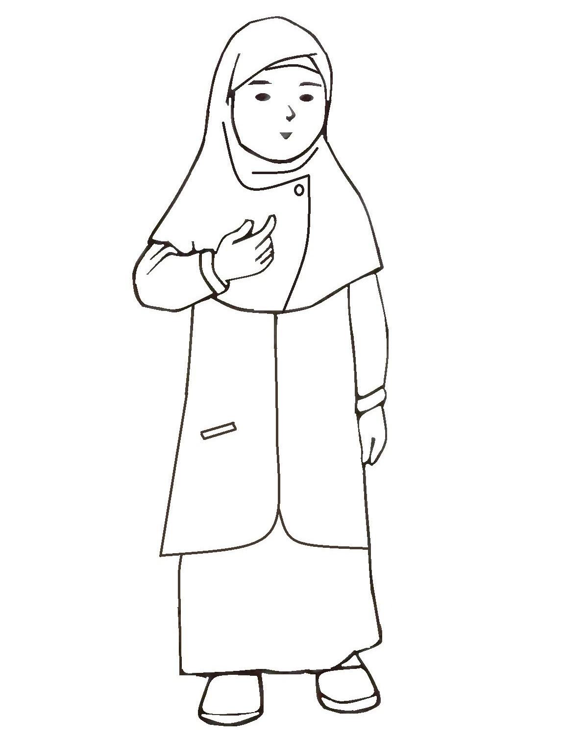Gambar List Mewarnai Baju Ibu Pict Pictures Gambar Kartun Wanita