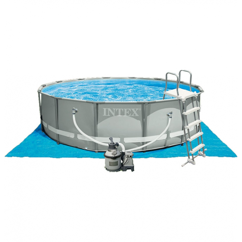 tapis de sol intex pour piscine hors sol intex tapis 4 72 x 4 72m