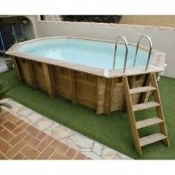 piscines en bois hors sol semi