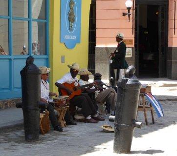 Muziek is overal en overal is muziek. Havanna