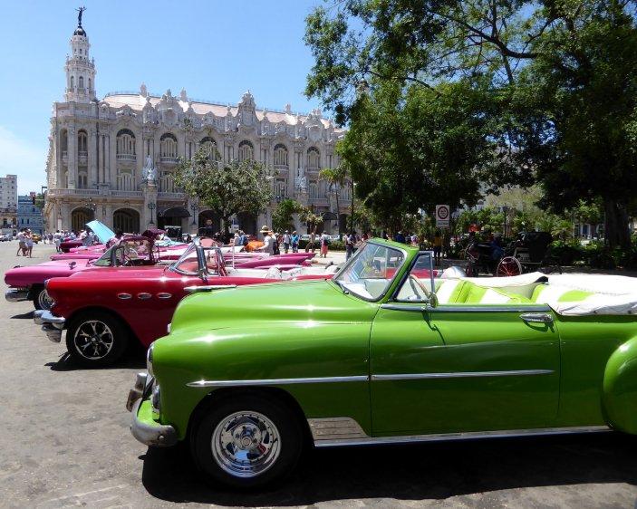 Het concept vloekende kleuren bestaat niet in Cuba. Havanna