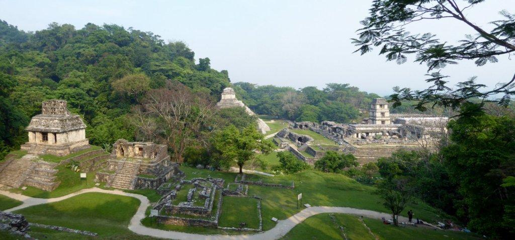 Ruïnes is overvloed. Maar het blijft mooi! Palenque