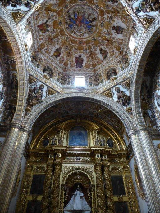 De uitbundig versierde kerken van Oaxaca.