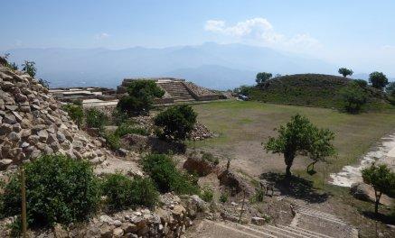 De ruïnes van Atzompa.