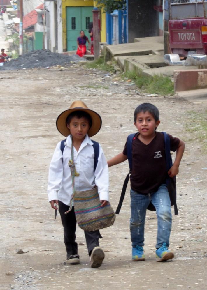 De kiddos van Acul.