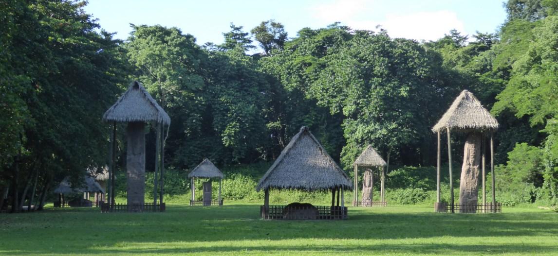 Stele dorp. Quiriguá